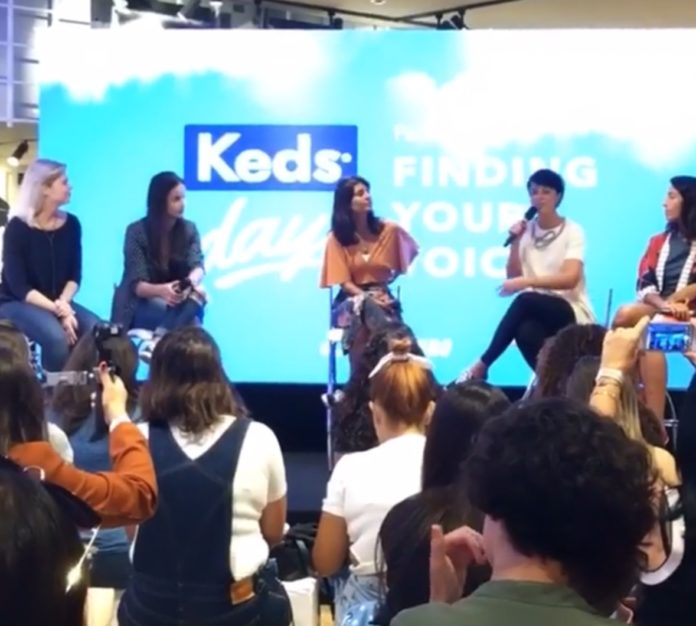 """Keds Day: Painel """"Finding your Voice"""" inspira mulheres"""